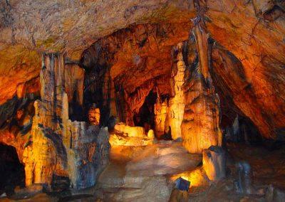 Grotten bezoek
