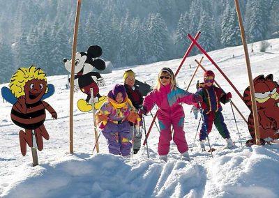 Kinder ski weide